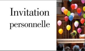 Invitation personnelle à devenir Membre de l'Eglise