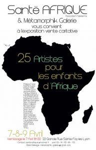 25 artistes pour les enfants d'Afriques