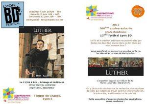 Festival Lyon BD & Martin Luther du 9 au 11 Juin