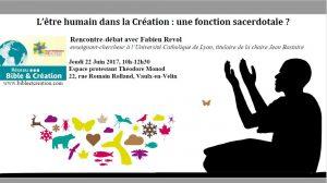 L'être humain dans la Création : une fonction sacerdotale ?