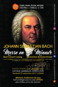 «Protestant 2017» : Messe en Si mineure de JS Bach