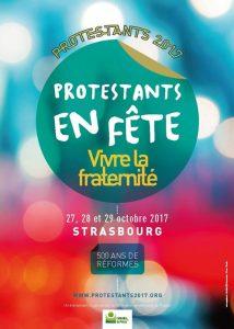Protestants en fête, les 27, 28 et 29 Octobre à Strasbourg