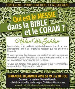 Qui est le MESSIE dans la BIBLE et le CORAN ?