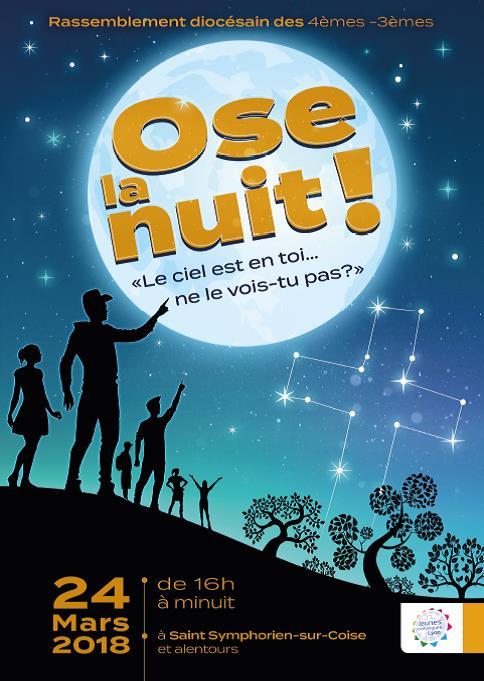 Ose La Nuit, le 24 Mars 2018