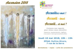 10 mai ; Journée diaconie du Consistoire à la Sarra