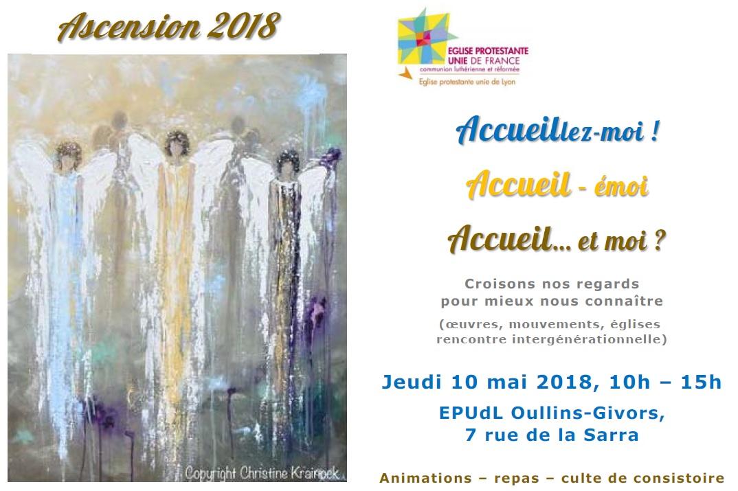 Journée diaconie du Consistoire – Ascension 2018