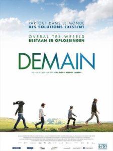 """Cinéma en plein air, avec le film """"Demain"""", le 6 Juillet dans le parc de la Sarra"""