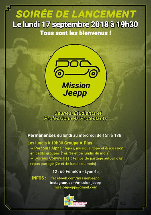 Lancement de la mission étudiante à Lyon le 17 Septembre