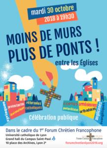 Premier Forum Chrétien Francophone à Lyon en Octobre