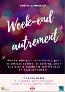 Week End KT, les 17 et 18 Novembre 2018