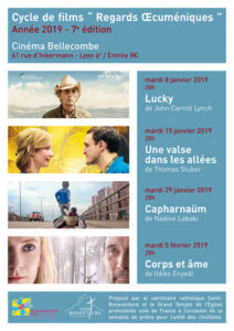 Cycle de films « Regards Œcuméniques » 2019