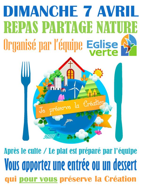 """""""Repas partagé nature"""", le 7 Avril 2019 à la Sarra"""