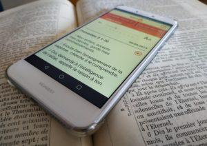 La bible sur téléphone ou tablette