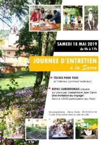 Journée d'entretien à la Sarra, samedi 18 Mai