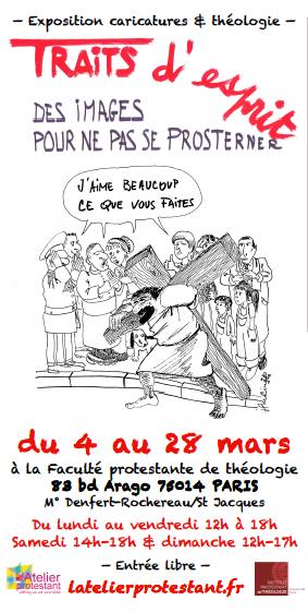 Affiche Atelier Protestant Mars 2015