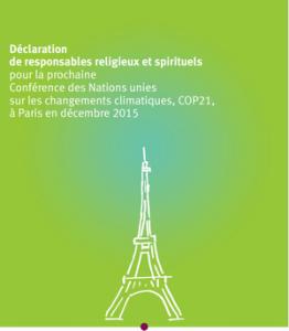 COP 21 : 154 responsables religieux lancent un appel