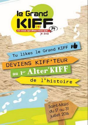 Le Grand KIFF à Saint Malo en Juillet 2016