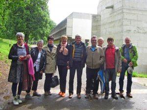 Le groupe Eventail au couvent de la Tourette