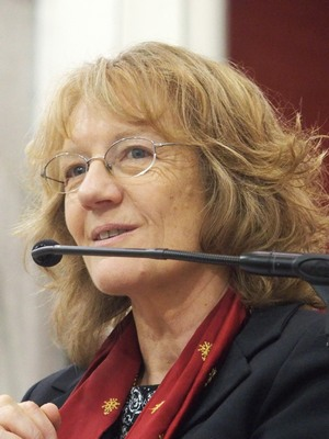 Françoise Steinberger, pasteur d'Oullins à la Sarra