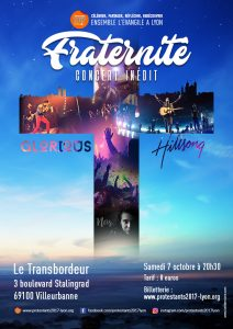 «Protestant 2017» : Concert Hillsong / Glorious en concert en Octobre