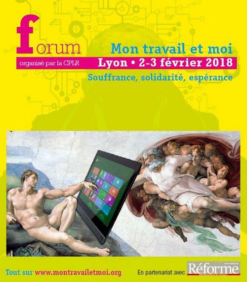 Forum Mon Travail Et Moi les 2 et 3 Février 2018 à Lyon