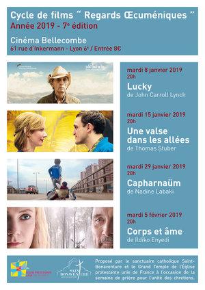 """Cycle de films """"Regards Œcuméniques"""" 2019"""