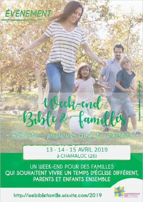 WE Bible et Famille 2019