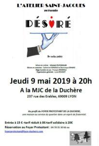 Théatre : «Desiré» De Sacha Guitry au profit du foyer de la Duchère