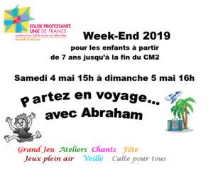 Weekend des enfants des écoles biblique en Mai 2019