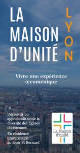 La Maison d'Unité arrive à Lyon pour la rentrée 2019