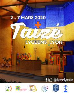 Semaine des lycéens à Taizé en Mars 2020