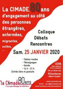 Colloque à Lyon pour les 80 ans de la Cimade
