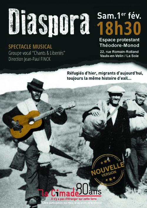 Spectacle Diaspora 1er fév 2020