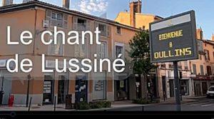 Lussiné chante tous les soirs à 20h dans la grande rue à Oullins