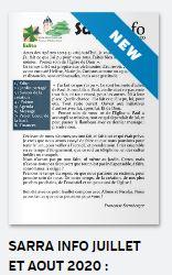 Sarra Info de septembre-octobre 2020 : rendre grâces à Dieu