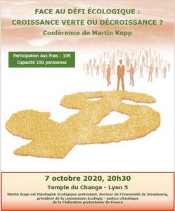 Conférence : Croissance Verte ou Décroissance ?