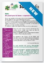 Sarra Info de Janvier – février 2021 : Un projet pour la Sarra, «repenser l'accueil»