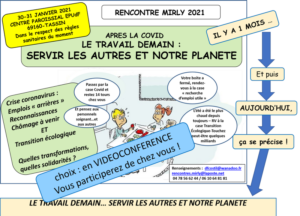 Mirly 2021 : Le travail demain… Servir les autres et notre planète