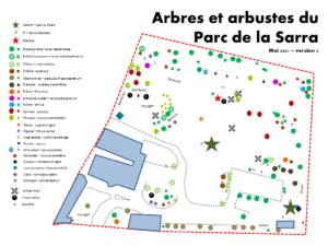 Arbres et arbustes du Parc de la Sarra