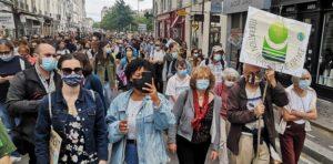 Marche pour le climat du 9 Mai à Lyon