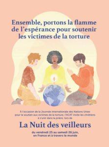Nuit Des Veilleurs le 25 Juin 2021