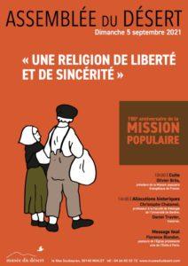 Assemblée du désert 2021 : Une religion de liberté et de sincérité