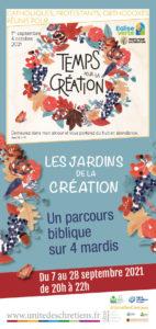 Les Jardins de la création : un parcours biblique sur 4 Mardis
