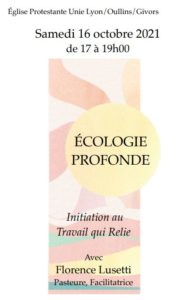 Ecologie Profonde par Florence Lusetti, Samedi16 Octobre 2021 à la Sarra