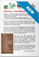 Sarra Info Octobre-Novembre 2021 – Attention : Signalétique